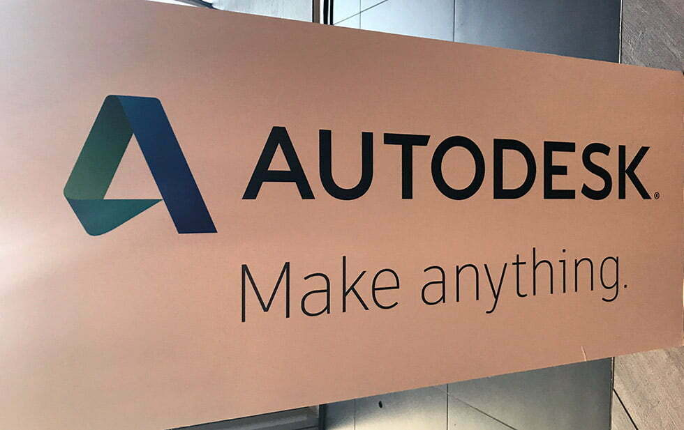 Autodesk banner
