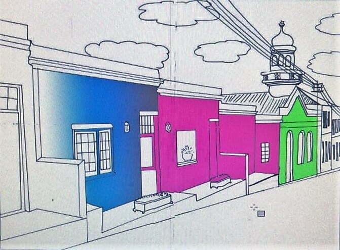 Cape Town Sketchbook Skyline